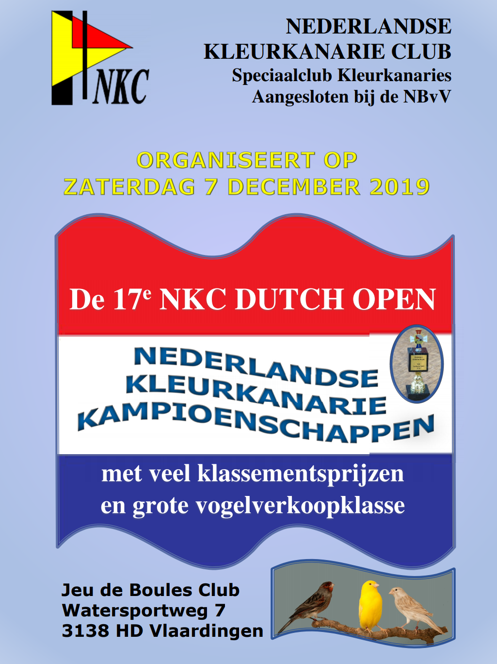flyer 17e dutch open 2019